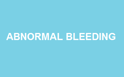 What is Abnormal Uterine Bleeding and when does it occur?